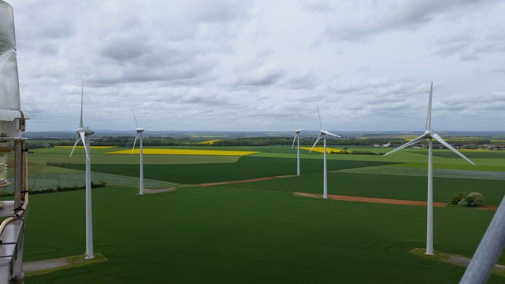 Windenergieanlagen in Kisielice