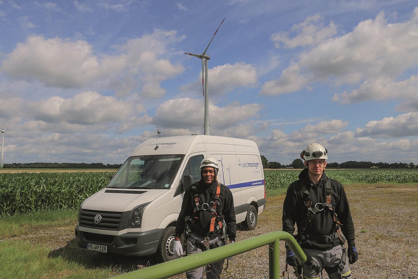 wpd windmanager übernimmt Betreiberverantwortung für Windparks