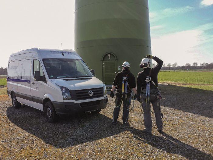 Der Windpark Plouguin besteht aus 5 Enercon E-66 Anlagen