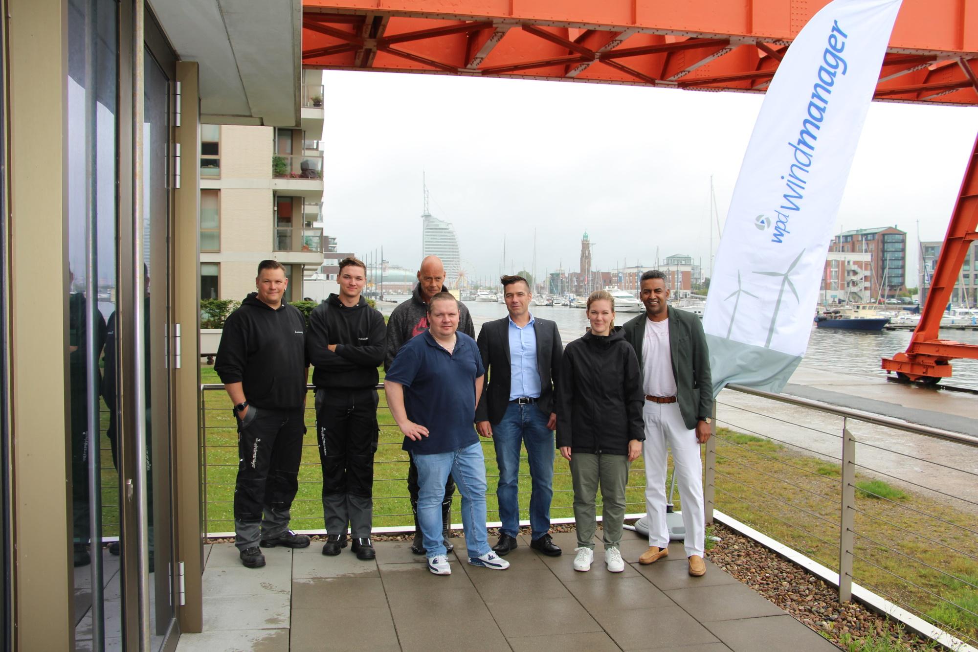 Das Team am neuen Standort Bremerhaven