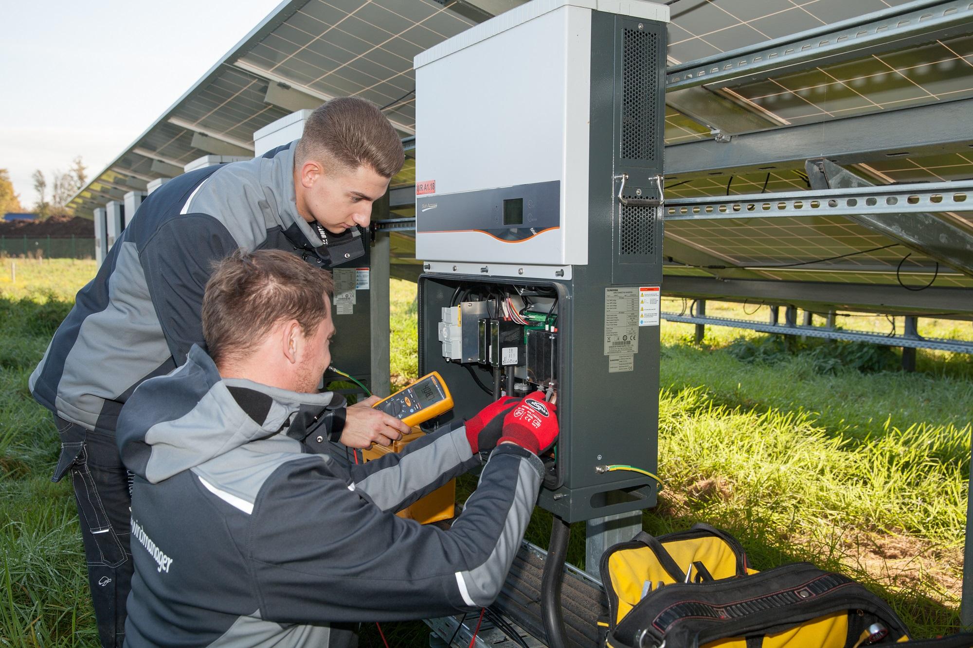Betriebsführung für Photovoltaik-Anlagen